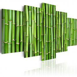 Obraz - Bambus - harmonia i prostota (100x50 cm)