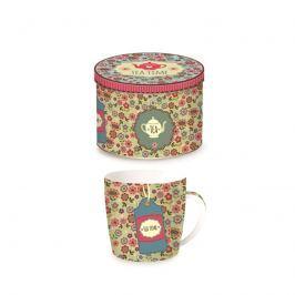 Porcelanowy kubek w blaszanym pudełku 350 ml Nuova R2S Happy Life