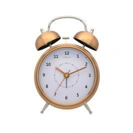 Zegar stojący 30 cm NeXtime Wake Up miedziany