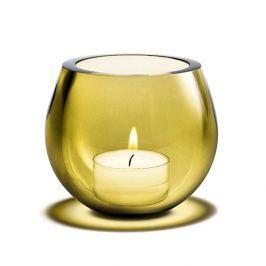 Świecznik tealight Holmegaard Cocoon żółty