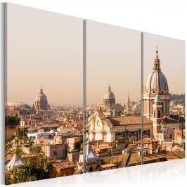 Obraz - Ponad dachami Wiecznego Miasta (60x40 cm)