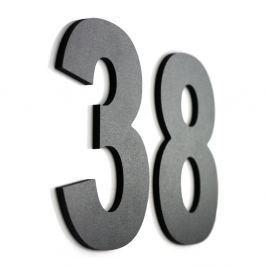 Znak informacyjny NUMER I LITERA NA DOM 15 cm 1 szt. czarny Pozostałe artykuły wyposażenia wnętrz