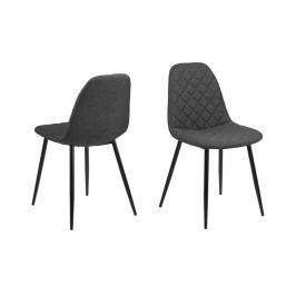 Krzesło Wilma Actona ciemnoszare