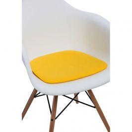 Poduszka na krzesło Arm Chair żółta