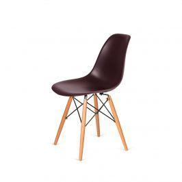 Krzesło 46x54x81cm King Home DSW Wood brązowe