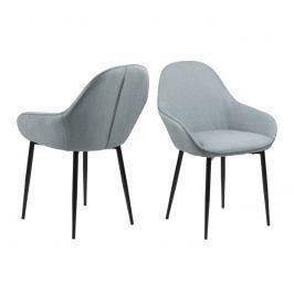 Krzesło Candis Actona zielono-szare