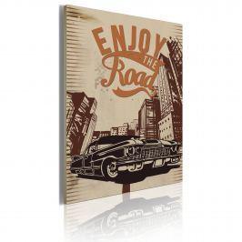 Obraz - Enjoy the road (50x70 cm)