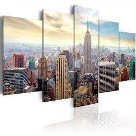 Obraz - Poranek w Nowym Jorku (100x50 cm)
