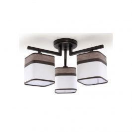Plafon Latte 3 46x46cm Sollux Lighting biało-brązowy