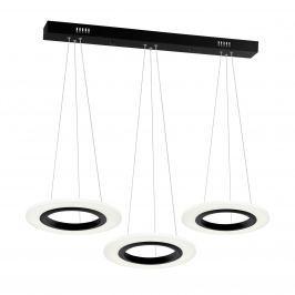 Lampa wisząca 100x30cm Milagro Cosmo biało-czarna