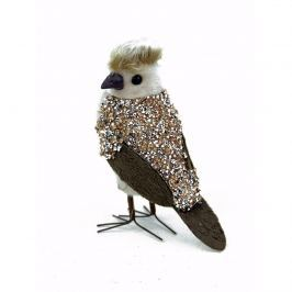 Ptaszek dekoracyjny 15x8x15cm