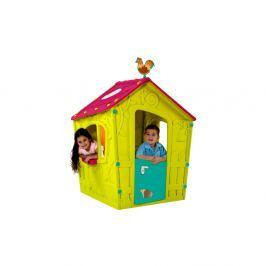 Domek dla dzieci 110x110x146cm Bazkar MAGIC PLAYHOUSE zielony