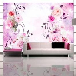 Fototapeta - Różane wariacje (300x210 cm)