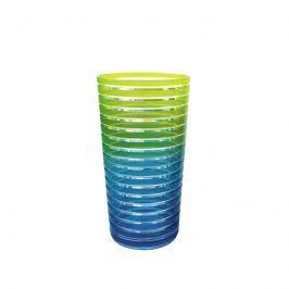 Kubek 360 ml Zak! Designs Rainbow zielono-niebieski