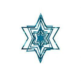 Ozdoba choinkowa Philippi niebieska