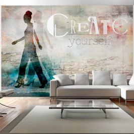 Fototapeta - Create yourself (300x210 cm)