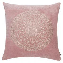 Poduszka 45x45cm D2 Preston velvet różowa