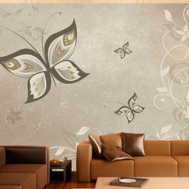 Fototapeta - Skrzydła motyla (300x210 cm)