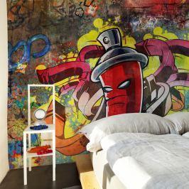Fototapeta - Graffiti monster (450x270 cm)