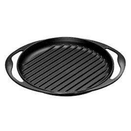 Grill żeliwny okrągły 25 cm Le Creuset czarny