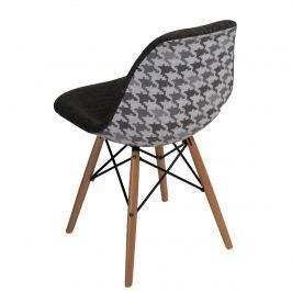 Krzesło P016W Pattern D2 szare/pepitka
