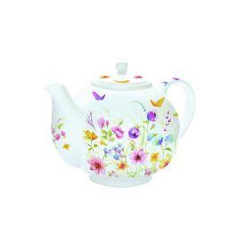 Czajnik do herbaty z zaparzaczem 1 l Nuova R2S Romantic kwiaty polne