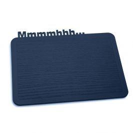 Deska do krojenia 19,8x25 cm Koziol Happy Board Mmmhh kobaltowa