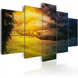 Obraz - Między nocą a dniem (100x50 cm)