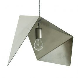Lampa geometryczna 42 cm Gie El stalowa