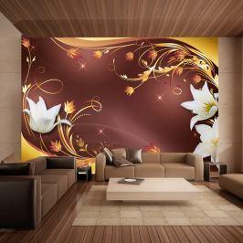 Fototapeta - Jesienna kompozycja (300x210 cm)