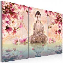Obraz - Budda - medytacja (60x40 cm)