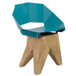Krzesło stalowe 74 cm Gie El ciemnozielone