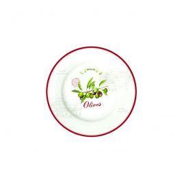 Talerz płytki Nuova R2S Bistrot Olives oliwki