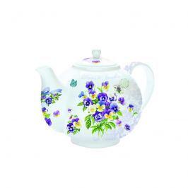 Czajnik do herbaty z zaparzaczem 1 l Nuova R2S Romantic bratki