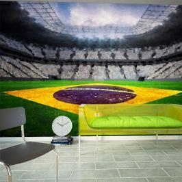 Fototapeta - Brazylijski stadion (300x210 cm)
