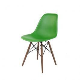 Krzesło P016W PP ciemno zielone/dark