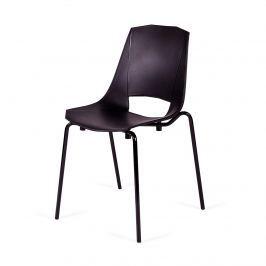 Krzesło 51x51x84cm King Home Evva czarne