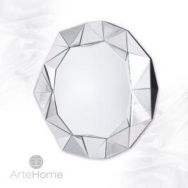Blanka - okrągłe lustro dekoracyjne w ramie lustrzanej