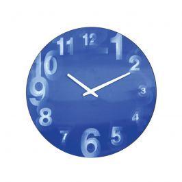 Zegar ścienny 39 cm Nextime 3D niebieski
