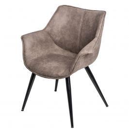 Krzesło 69x66x78cm D2 Lord brązowe