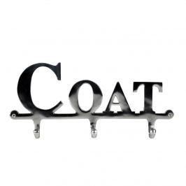 Wieszak 4 haczyki Coat 35x4x16cm