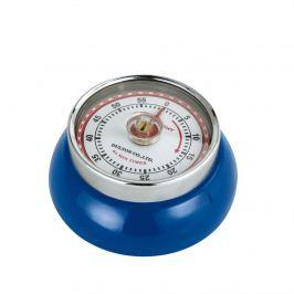 timer mechaniczny, śred. 7x3 cm, niebieski