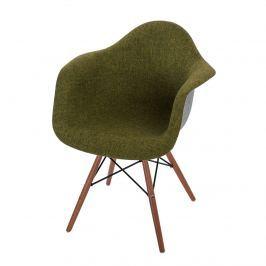 Krzesło P018 DAW Duo D2 zielono-szare