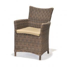 Fotel z poduszką D2 Kolanta PDS brązowy