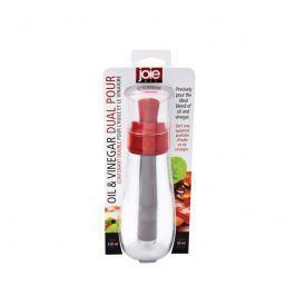 Dozownik do oliwy i octu 2w1 200/50ml MSC International czerwony