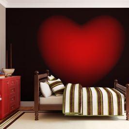 Fototapeta - Shape of my heart (200x154 cm)