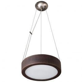 Lampa wisząca Atena 36cm Lampex Wenge