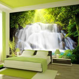 Fototapeta - Arkadyjski wodospad (300x210 cm)