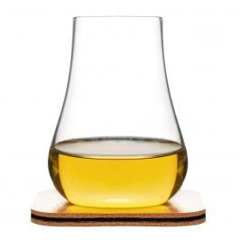 Szklanki do whisky 2 szt. z podkładkami Sagaform Club