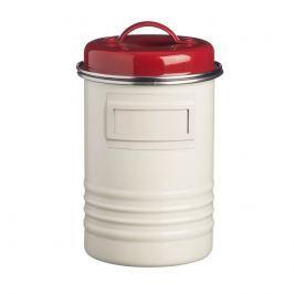 Pojemnik kuchenny 1,9l Typhoon Belmont kremowo-czerwony